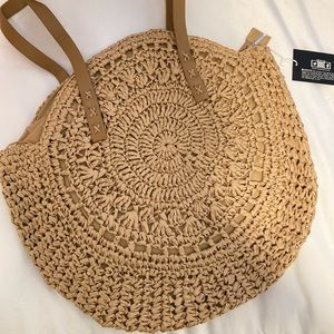 🔸LAST ONE🔸Large Straw Tote